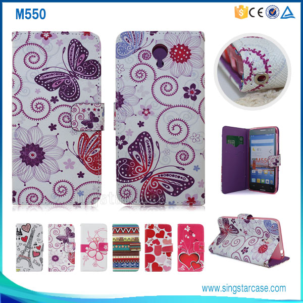 Flip Cover Case For InFocus M550, Wallet Leather Case For InFocus M550, For InFocus M550 Case