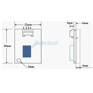 Rs232 Temperature Humidity Sensor, Rs232 Temperature