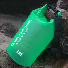 10L Transparent pvc waterproof dry bag ,custom logo waterproof dry bag