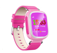 2017 New Popular Hot Selling SIM cards SOS call Q80 Kids GPS Smart Watch