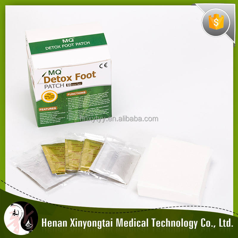MQ03 Detox foot plaster with China herbal ingredient for fatigue customer
