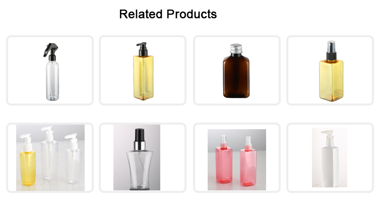 Personal Care 140ml Plastic Transparent Trigger Sprayer Bottle