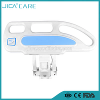 high quality plastic collapsible 3/5 functions electric side rails in hospital