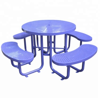 Portable Street Furniture Outdoor Bench Seating Picnic Table