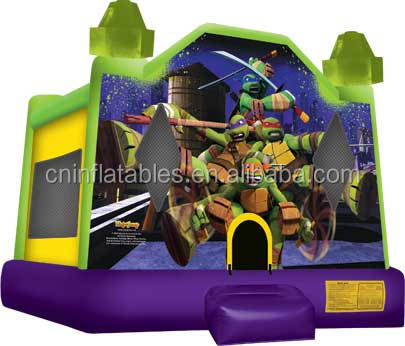 inflatable jumping bouncer/inflatable Turtles Bounce House