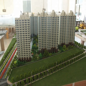 manufacturer customized school apartment house villa building construction architectural scale model 3D making