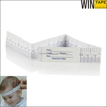 24Inch Water Proof Disposable Medical Infant Measurement Tools Tyvek Printing Paper For Measuring Baby
