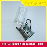 Wholesale Cheap Wall Mounted Bathroom Portable Metal Coffee Cup Holder