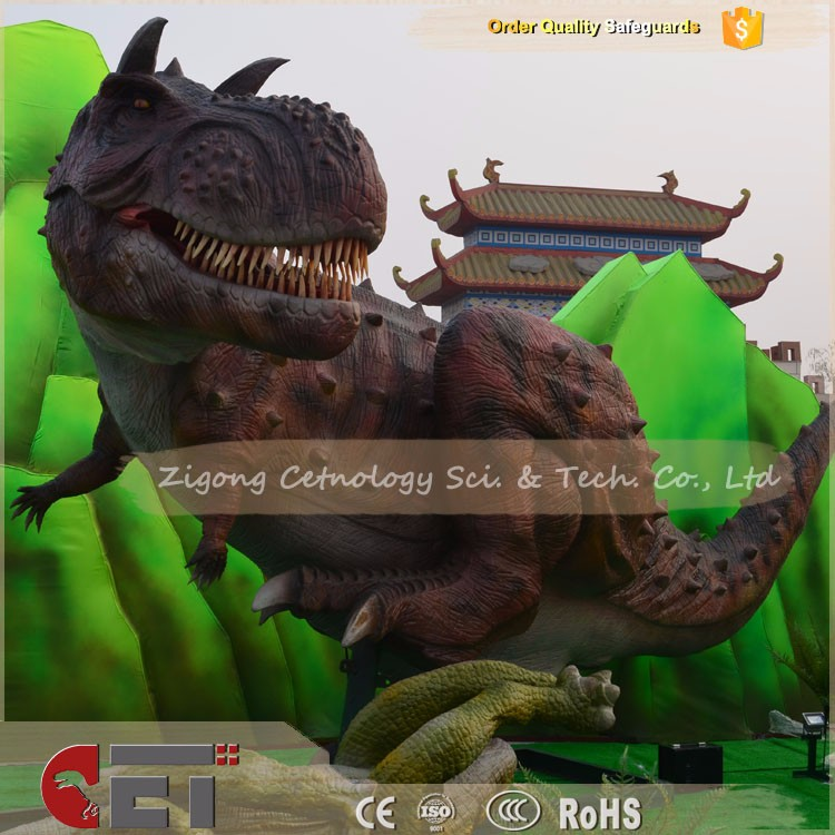 CET-H464 Entertainment machines artificial animatronic dinosaur rubber model