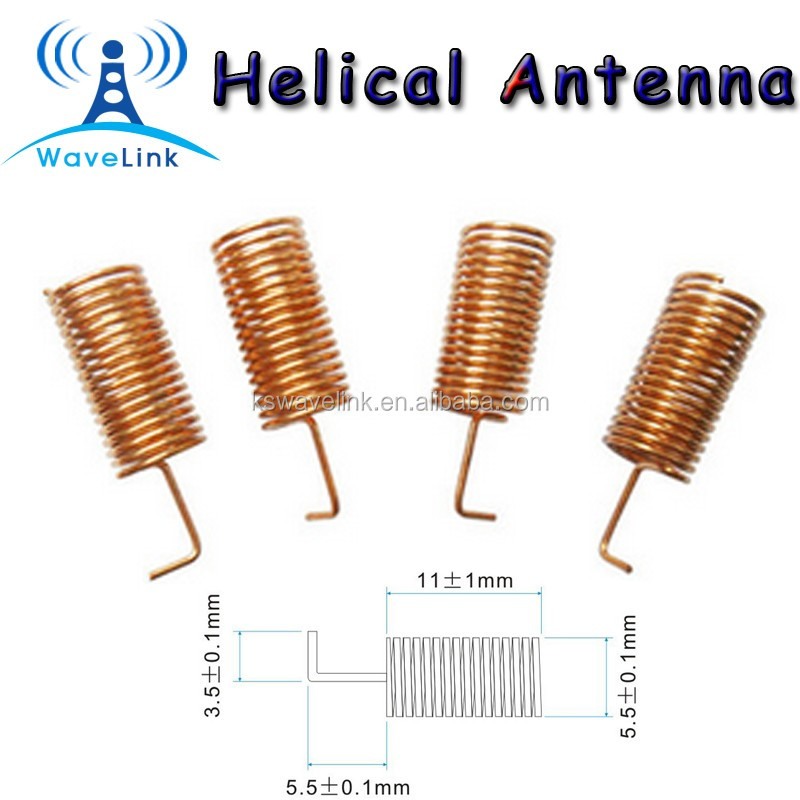 Factory Price Low Cost Gold Plating Copper Coil Spring 2 4g Wifi Helical  Antenna - Buy 2 4g Wifi Helical Antenna,Copper Coil 2 4g Wifi Helical