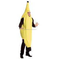 2018 halloween adult carnival wholesale banana costume AGM276