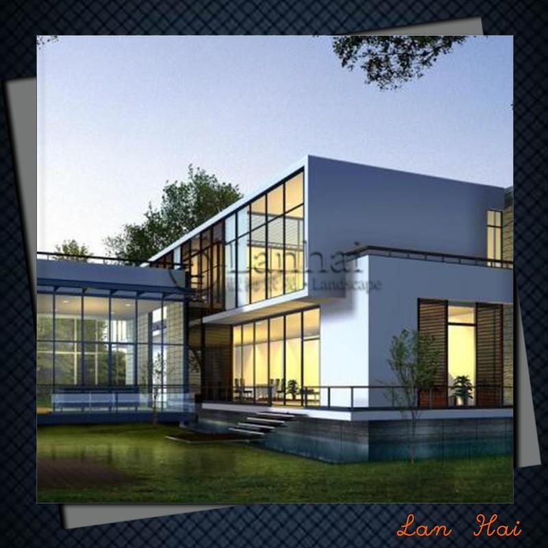 Haus pl ne architektur 3d rendering architektrudesign - Renderings architektur ...