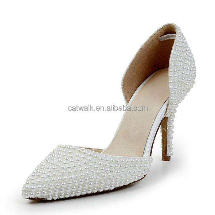 Wholesale CATWALK-S770247 women high heels ladies wedding shoes ...