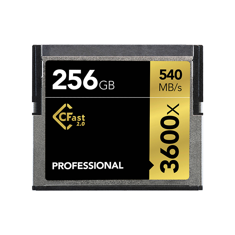 High Speed 64GB CFast 2.0 Memory Card