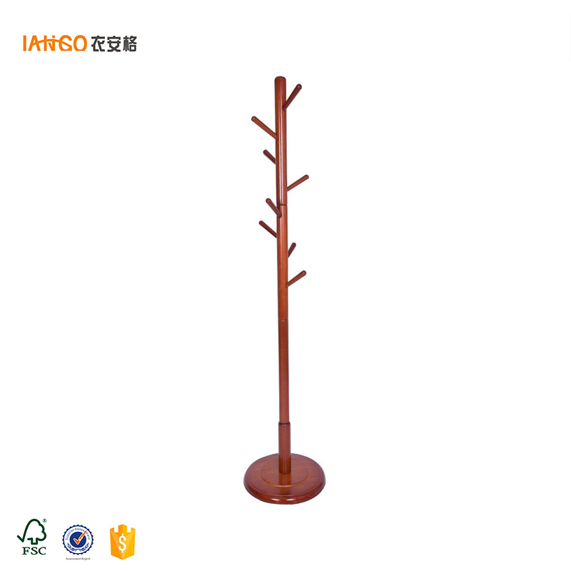 Good Price wooden Folding Bedroom Clothes Hanging Stand / Clothes Hanger Stand / Clothes Stand