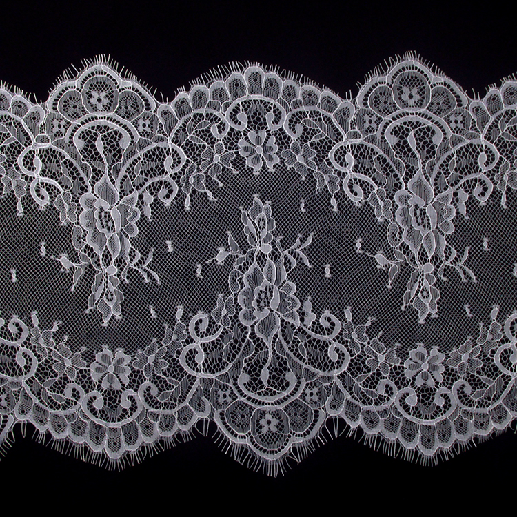 "7.5/"" Wide White Ivory Scalloped Venice Lace Trim Trimming Guipure Trim By Yard"
