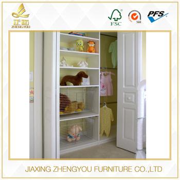 Attractive Overall Wardrobe Organized Cabinet Assemble Child Closet