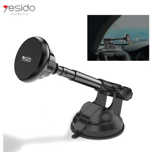 strong suction cup 6 pcs magnet phone mount magnetic dashboard car cell phone holder