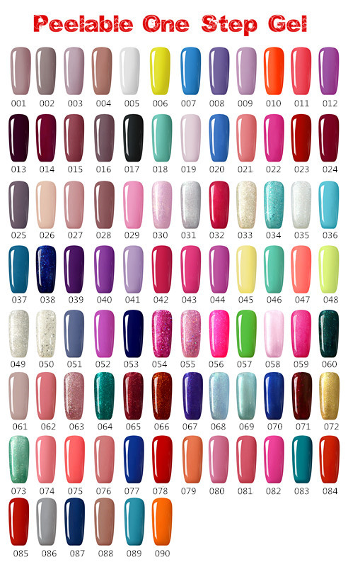 2016 Hot Sale Honey Girl Gel Nail Polish Soak Off Uv/led Color Gel ...