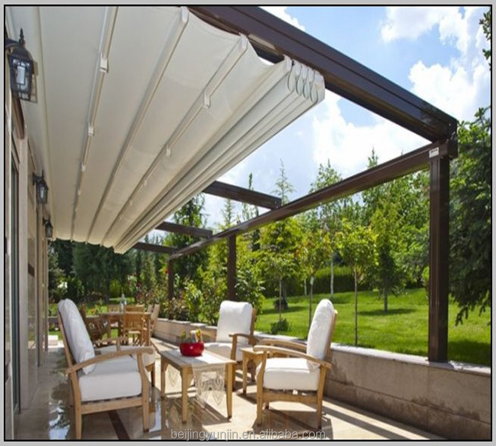 Patio Adjustable Sun Shades Retractable Metal Pergola   Buy Retractable  Metal Pergola,Sun Shades Retractable Metal Pergola,Adjustable Sun Shades  Retractable ...