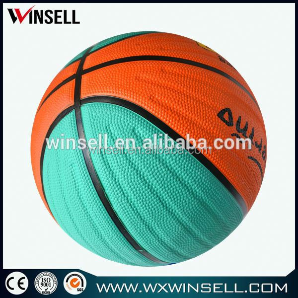 2015 kid rubber basketball weight