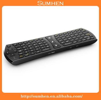 Rii Mini I24t 2.4ghz Wireless 78 Keys Qwerty Keyboard & Touchpad ...
