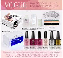 CCO Perfect Nail Gel Set AII-in-One Kit For The Nail Tech