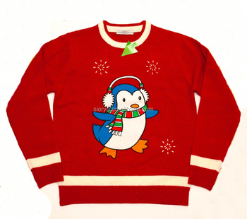 penguin xmas jumpers