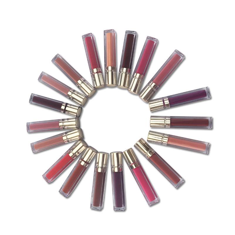 Cosmetics private label nude makeup oil lip clear lipigloss custom lip gloss vendor
