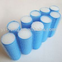 Plastic hot water hair rollers