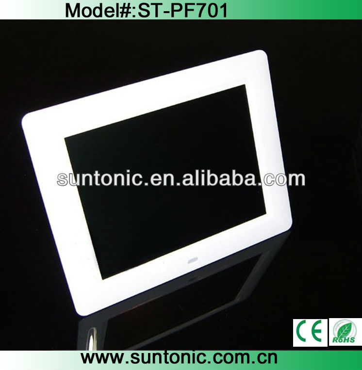 7 inch digital photo frame with good factory price