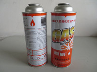 Straight tinplate aerosol can for butane gas packaging