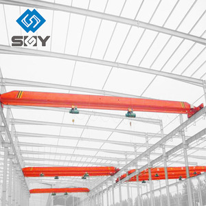 China Suppliers Single Girder Overhead Crane with Monorail Hoist Capacity 10 ton Price