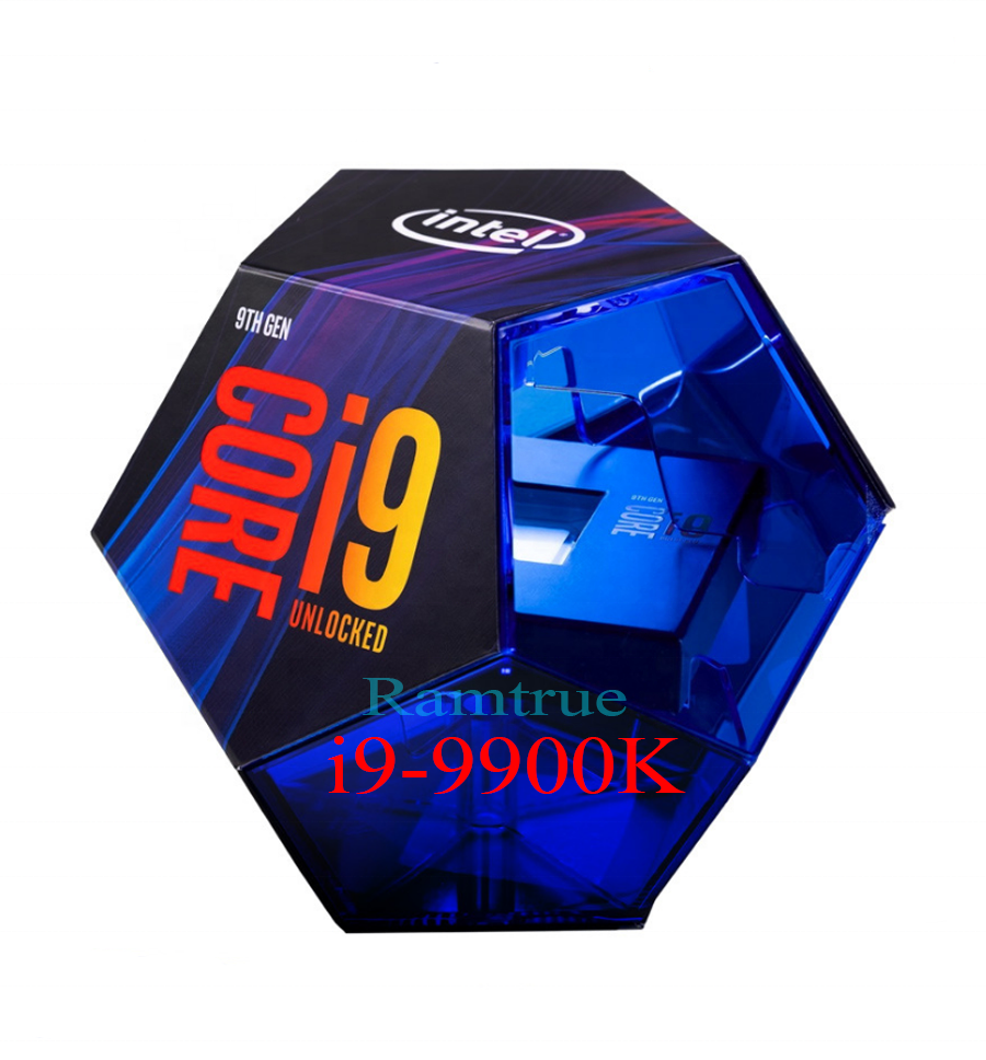 i9 9900k original new cpu processor