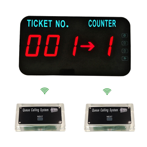 YCALL 999 capacity good distance simple queue management system for restaurant bank take a number customer wait service