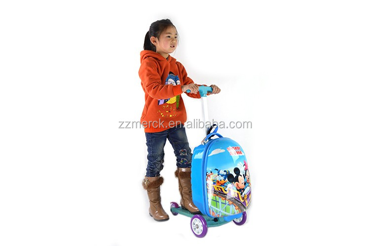 Oem Kids Ride-on Suitcase Scooter,Scooter Suitcase
