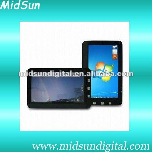 9.7 inch Intel Atom N455 windows 7 tablet pc,mid,Android 2.3,Cotex A9,1.2Ghz,Build in 3G,WIFI GPS,Bluetooth,GSM,WCDMA,Call Phone