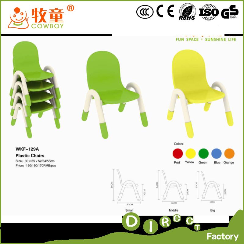 Wkf-129a Kinder Kindergarten Möbel Kinder Plastikstühle Zum Verkauf ...