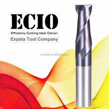 High quality solid carbide end mill. 2 Flutes Square End Mill (AlTiCrN), Carbide cutting tool