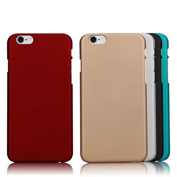 Best Selling Products Mobile Accessories Rubberized PC Back Cover for Apple iphone 6 plus