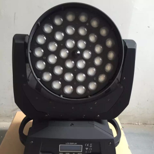 Moving head zoom wash 36*18w 6in1 led wash zoom moving head
