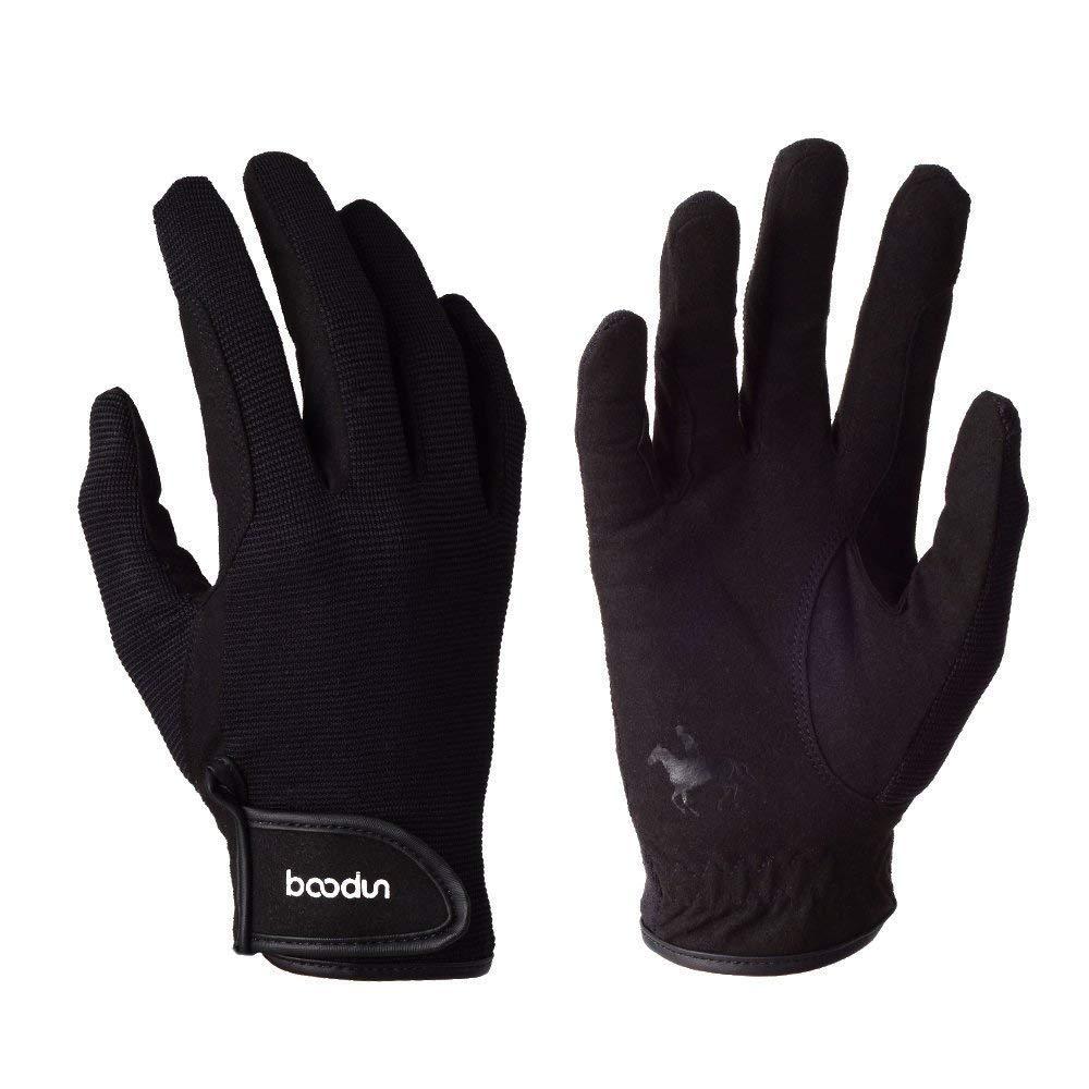 BOODUN Riding Gloves Full Figure Heritage Performance Gloves for Men & Women