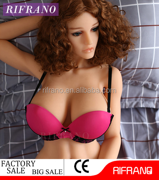 New 140cm real lifelike young sex doll with metal skeleton big breast 3 <strong>holes</strong>