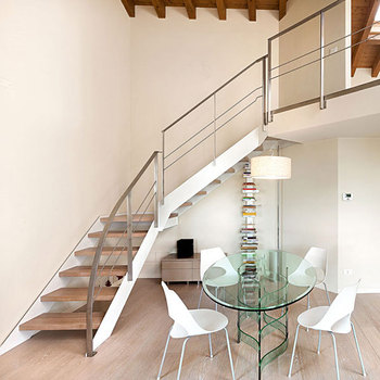 Indoor Modern Type Staircase Gl Railing Designs Price With Stainless Steel Barade