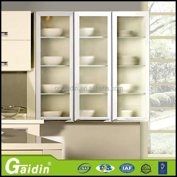 Simple Y Elegante Armario Marcos,Aluminio Gabinete De Cocina De ...