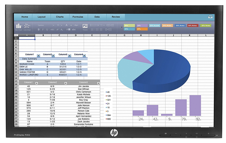 HP ProDisplay L1E32AA#ABA 20-Inch Screen LED-lit Monitor