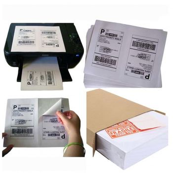 Blank Die Cut Paper A4 Shipping Label For Usps,Dhl,Ups,Amazon,Fba, View  shipping label, Mondecasa Product Details from Yiwu Zhongqi Art & Crafts  Co ,
