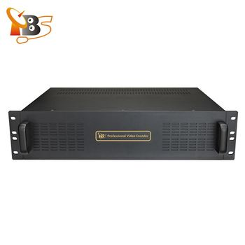 16 ingressi Professionale H.265 H.264 HD-SDI IPTV Codificatore Video SDI per IP streaming UDP RTP RTMP
