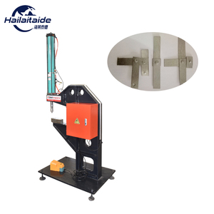 manufacturer Pneumatic clinching machines, FC C-frame Bench for vanitation pipe