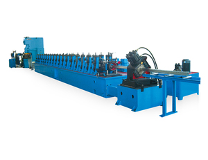 Heavy Duty Warehouse Metal Shelf Storage Rack/Upright/Beam Roll Forming Machine with Hole Punching